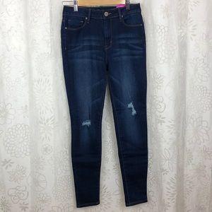 Ymi skinny jean Hi Rise dark blue size 7